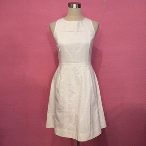J Crew white dress. NWT